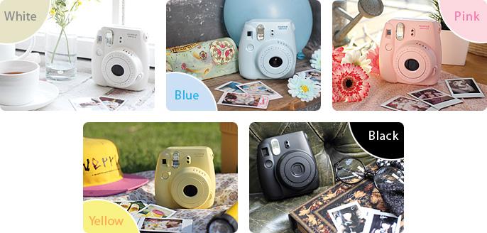 Fujifilm Instax Mini 8 Photo Film Camera Fuji Instant Cam + Free ...